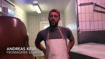 Andreas Keul produit du fromage des alpages à Waimes