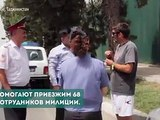 В Таджикистане три месяца назад при отделе по проблемам экологии МВД Таджикистана был создан подотдел туризма, в задачу которого входит охрана общественного пор