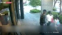 Çin'de annesiyle yürüyen çocuğu kaçırma girişimi