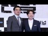 [NO CUT] 영화 '터널(The Tunnel)' 시사회 포토타임 (하정우, 오달수) [통통영상]