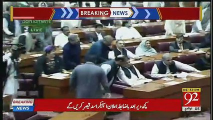 Imran Khan won Election of Prime Minister against Shahbaz Sharif