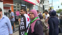 Suriyelilerden Türk Lirası'na destek - İSTANBUL