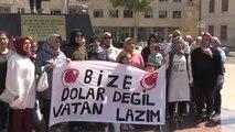 Kilis ve Gaziantep'ten Türk Lirasına Destek - Kilis/