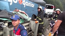 Bursa İnegöl'de Zincirleme Kaza 1 Ölü, 30 Yaralı Hd