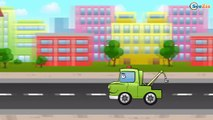 Racing cars and Monster Truck & Tow Truck | Cars & Trucks cartoon for children
