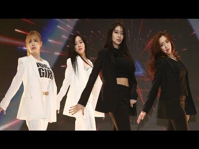 T-ARA(티아라) 'Reload' Showcase Stage (쇼케이스, 내 이름은, JIYEON, QRI, HYOMIN, EUNJUG)