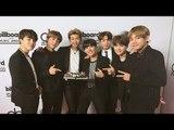 BTS(방탄 소년단), K팝 그룹 최초 '빌보드뮤직어워즈'서 수상 (Billboard Music Awards, Top Social Artist award)