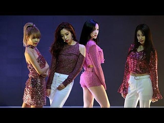 T-ARA(티아라) 'What's my name?' Showcase Stage (쇼케이스, 내 이름은, JIYEON, QRI, HYOMIN, EUNJUG)