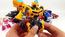 Transformers Movie 2 ROTF Autobot Buster Optimus Prime Bumblebee Truck 6 Vehicles Robot Ca