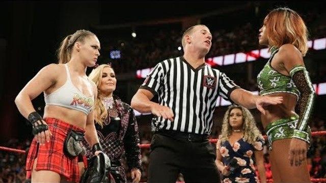 Ronda Rousey vs. Alicia Fox