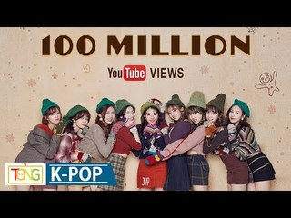 twice heart shaker mv tops 100 mln youtube views 7 1 tt cheer up