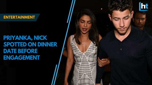 Priyanka Chopra, Nick Jonas on dinner date ahead of engagement
