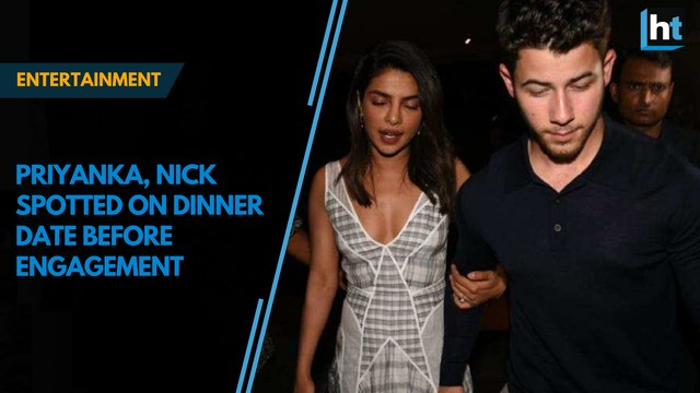 Priyanka Chopra, Nick Jonas on dinner date ahead of engagement