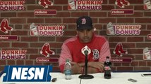 Alex Cora on Red Sox win over Rays