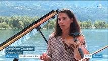 Découverte : le piano sur le lac mêle musique et nature