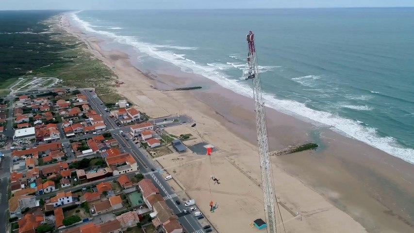 Parachutisme BASE Jump - Montalivet Surf TV