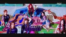 (G)I-DLE - HANN 180818 MBC Show Music Core (601회)
