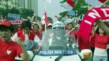 [ Hoạt cảnh ] SVĐ Gelora Bung Karno, Jakarta, Indonesia ~19h ngày 18/08/2018: Tổng thống Indonesnia Joko Widodo tới dự lễ khai mạc ASIAD 2018 bằng xe moto phân khối lớn - 1