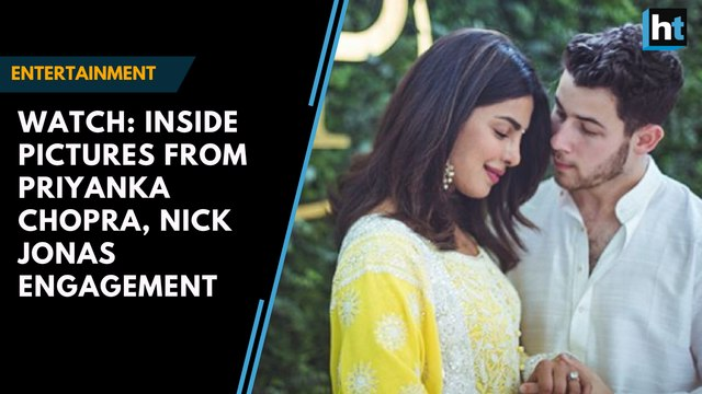 Watch: Inside pictures from Priyanka Chopra, Nick Jonas engagement