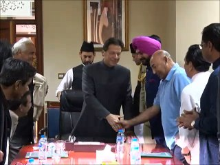 Exclusive Footage PM Imran Khan Meets Sidhu And Other Cricketers