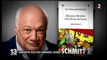 """Eric-Emmanel Schmitt interprète  """"Monsieur Ibrahim et les fleurs du Coran"""""""