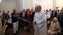 Alpes de Haute-Provence : inauguration de l'église de Saint-Pons