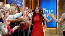 Nikki & Brie Bella (WWE The Bella Twins) Interview on Live with Kelly and Ryan - WWE Diva Wrestling Sports Celebrity