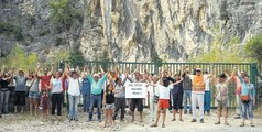 Sabarat : les anti-carrière à nouveau mobilisés en Ariège