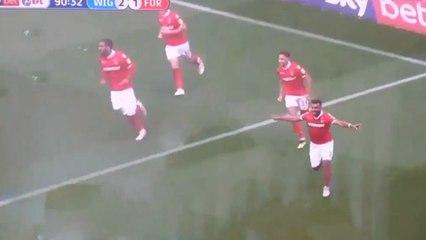 Soudani égalise à la derniere minute face à Wigan