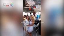 اللقطات الأولى من حفل زفاف منة حسين فهمى وطارق جميل فى الساحل