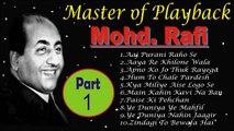 Mohammad Rafi Hit Songs -- मोहम्मद रफ़ी के सदाबहार गाने -- Top 10 Songs of Mohammad Rafi # Zili music company !