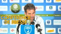 Conférence de presse Chamois Niortais - US Orléans (1-1) : Patrice LAIR (CNFC) - Didier OLLE-NICOLLE (USO) - 2018/2019