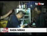 Petugas Sita Ratusan Botol Miras Sebuah Agen di Kawasan Kembangan