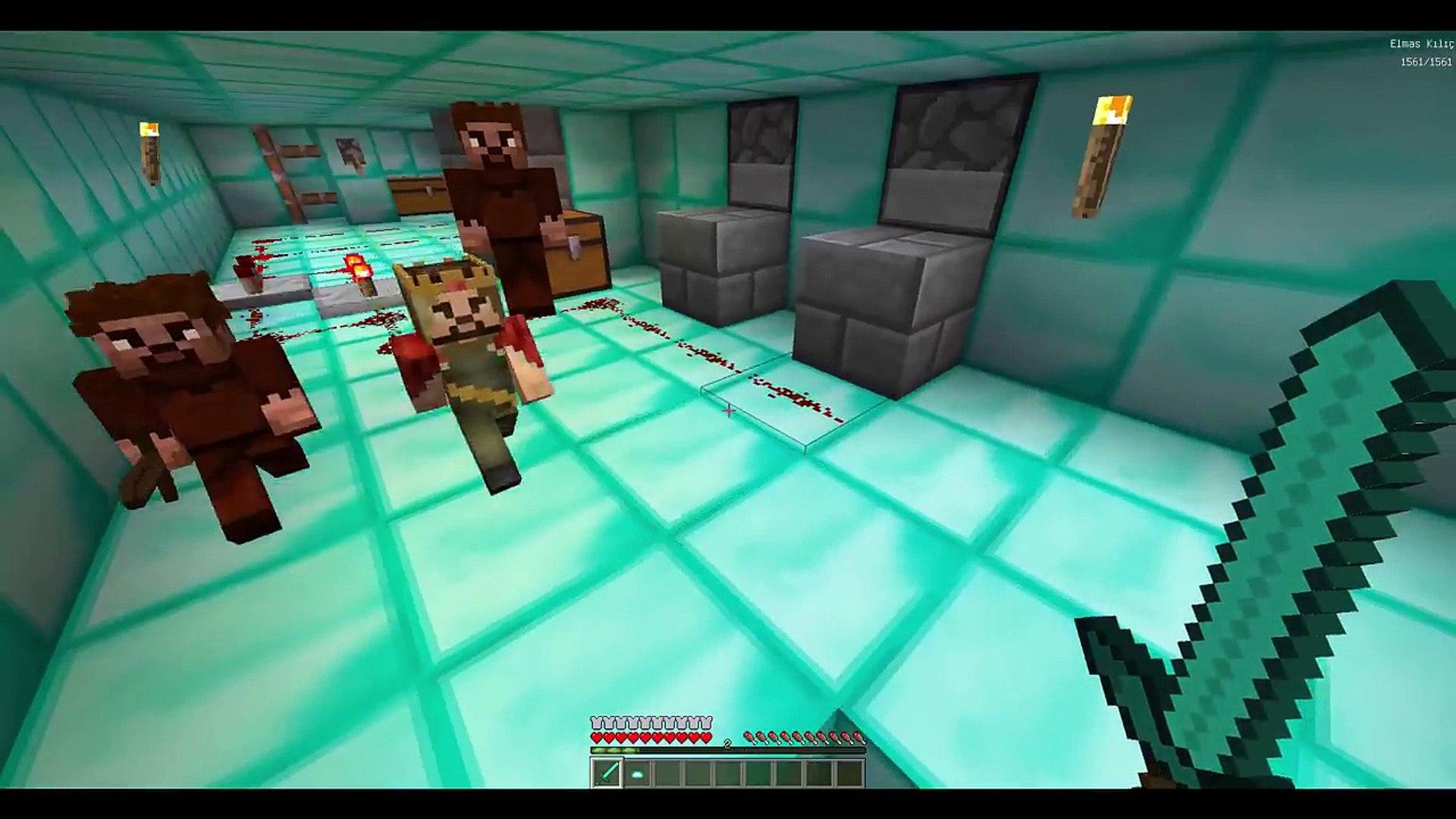 Kimsenin Bilmedigi Gizli Yer Alti Sehri Minecraft Video Dailymotion