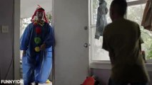 What? No! Clown!!! Watch this clown scare babies on MILFriend COMEDY