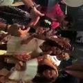 مصطفى فهمي يندمج مع الموسيقى ويدخل في وصلة رقص في حفل زفاف منة حسين فهمي