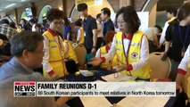 S. Korean families gather in Sokcho on Sunday to prepare for family reunions