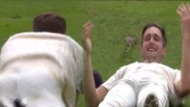 India Vs England 3rd Test: Chris Woakes Slips in Ground due to Wet Outfield|वनइंडिया हिंदी