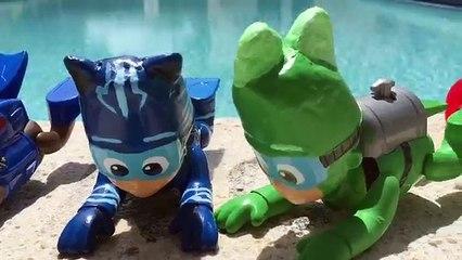 Pool fun with Masks PJ