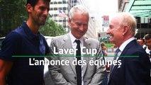 Laver Cup - Djokovic et McEnroe annoncent les équipes