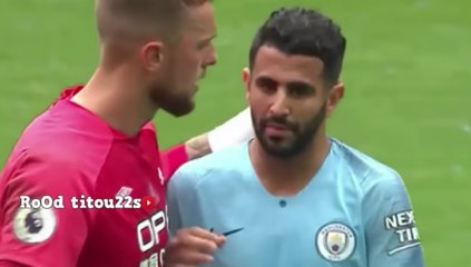 Résumé : Le match de Riyad Mahrez vs Huddersfield