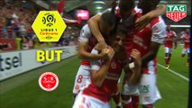 But Pablo CHAVARRIA (32ème) / Stade de Reims - Olympique Lyonnais - (1-0) - (REIMS-OL) / 2018-19