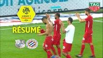 Amiens SC - Montpellier Hérault SC (1-2)  - Résumé - (ASC-MHSC) / 2018-19