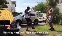 "Naija Swiss based artist NazB is presently disturbing the streets of europe with his hit single ""Ejeme Uwa ole"""