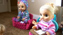 BABY ALIVE Has A Substitute Teacher And Everyone Shares Memories! Baby Alive Videos