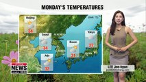 Heat wave alerts expand to more regions, typhoon Soulik on its way to Korea _ 082018