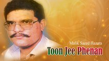 Malik Saeed Hazara - Toon Jee Phenan - Pakistani Old Hit Songs