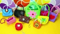 20 DIY Barbie Doll Miniature Purse, Handbag, Bag