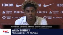 """Monaco : Geubbels assume """"la comparaison"""" avec Mbappé et veut """"faire encore mieux"""""""