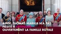 """Meghan Markle : Son père Thomas Markle compare la famille royale à """"une secte"""""""